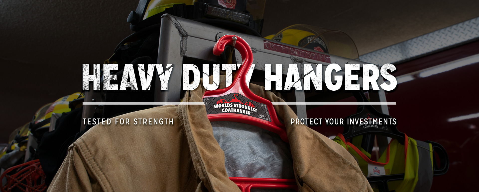 Firefighter Heavy Duty Hangers