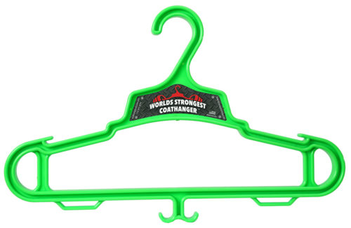 lime green Heavy Duty Coat Hanger
