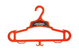 Orange Heavy Duty Coat Hanger