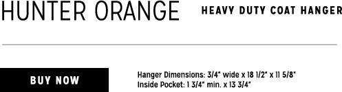 orange Heavy Duty Hanger
